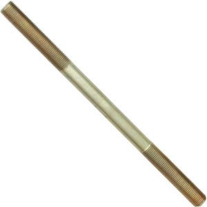 3/8 X 12 Threaded Rod, 24 TPI with Oil Finish