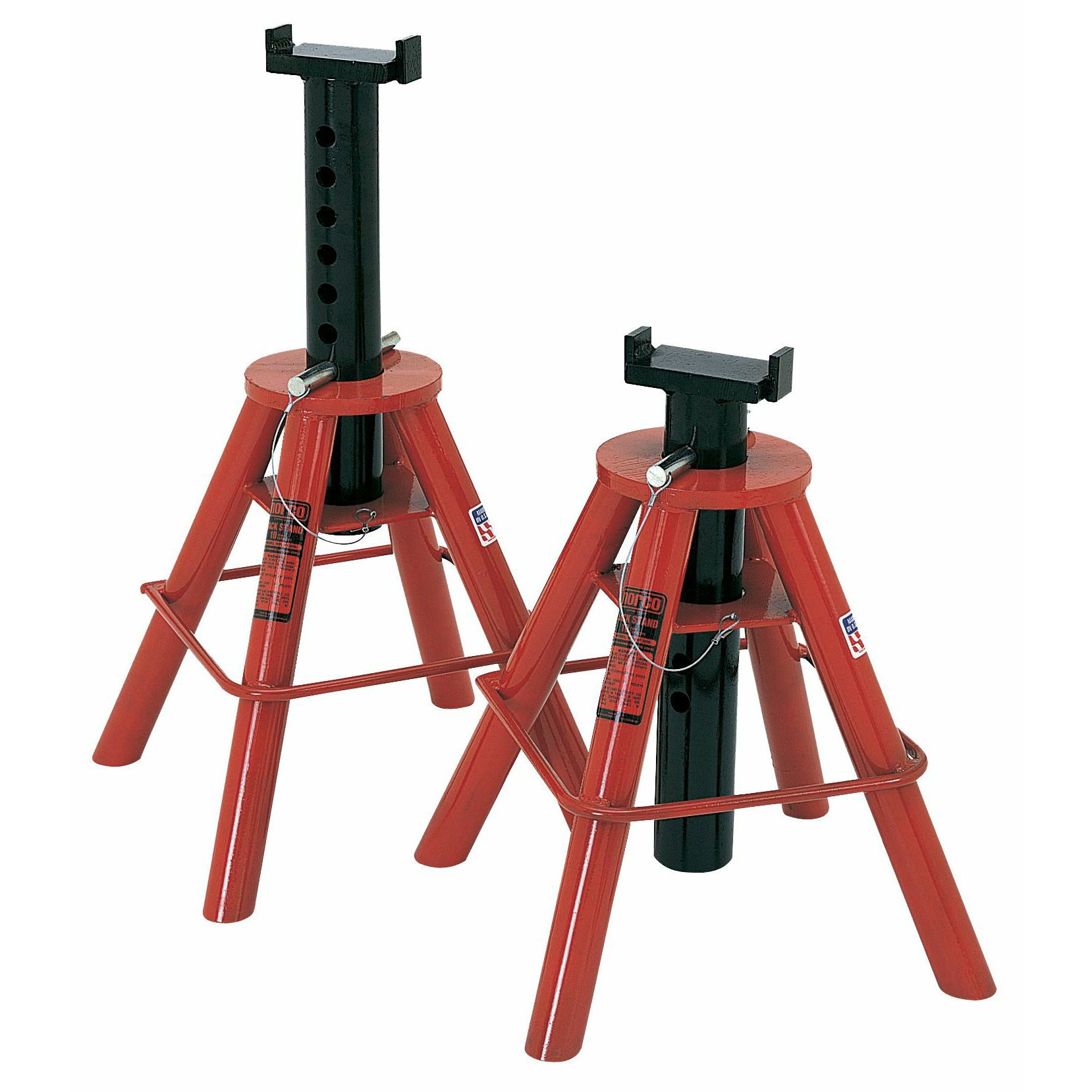 Light Jack Stand: Norco 81208 10 Ton Cap. Jack Stands