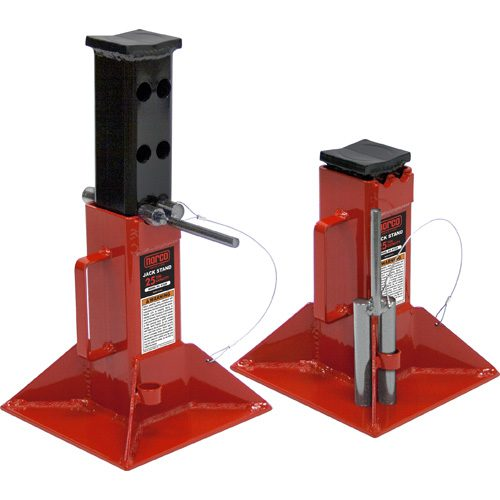 Light Jack Stand: Norco 81225i 25 Ton Capacity Jack Stands