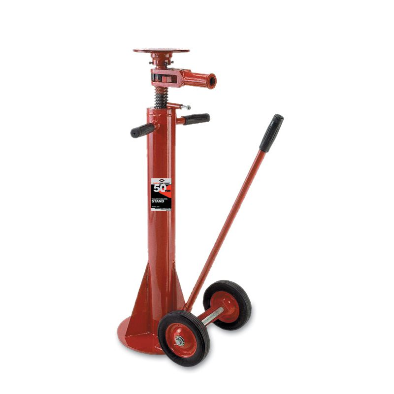 Light Jack Stand: American Forge 3318 50 Ton Trailer Stabilizing Stand