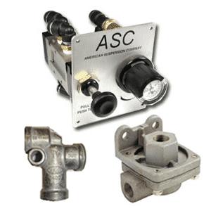 0386 ASC American Non-Steerable Suspension Air Control Panel