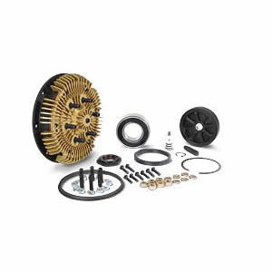 24-256-1 Kit Masters 2-Speed Gold Top Fan Clutch Rebuild Kit for 2.56'' pilot with 1 Pulley Bearing