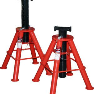 Norco 10 Ton Cap. Jack Stands - Pin Type-[Low] - Imported