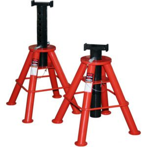 Norco 10 Ton Cap. Jack Stands - Pin Type-[Medium] - Imported