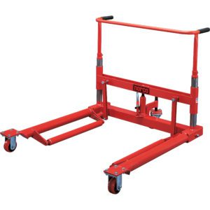 82301D 1 Ton Capacity Wheel Dolly with Swivel Front Wheels