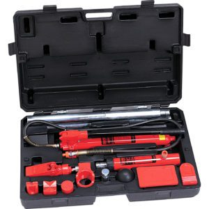 910006A 10 Ton Collision Repair Kit with Cast Adapters
