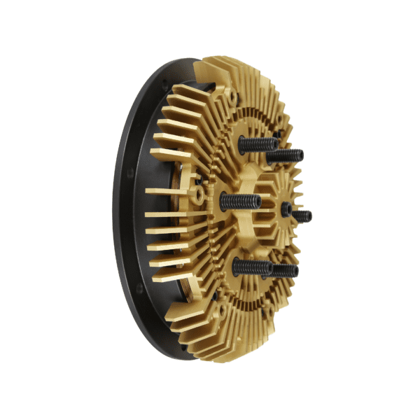 24-256 Kit Masters 2-Speed Gold Top Fan Clutch Rebuild Kit for 2.56'' pilot with 2 Pulley Bearings-1