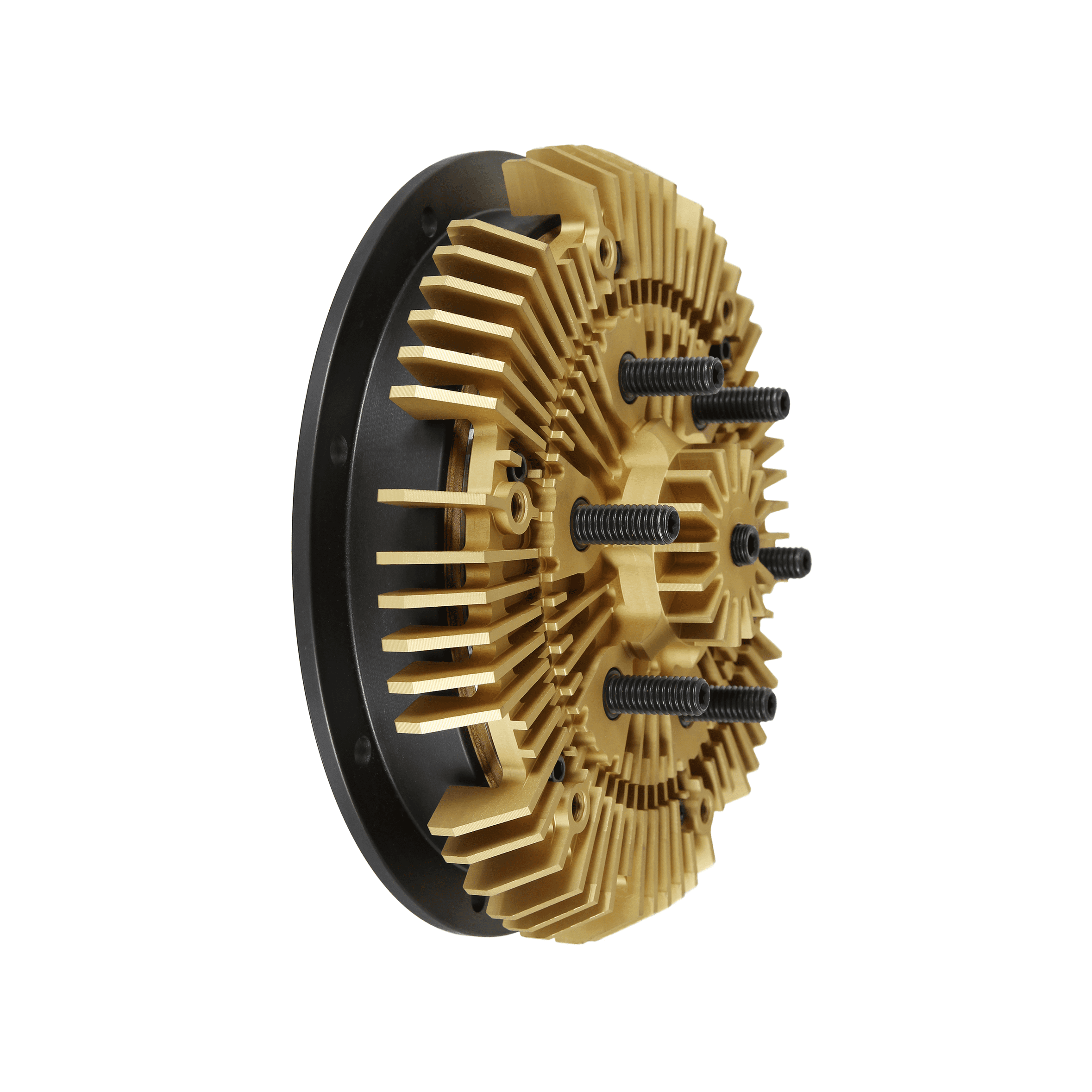 24-256 Kit Masters 2-Speed Gold Top Fan Clutch Rebuild Kit for 2 56'' pilot  with 2 Pulley Bearings