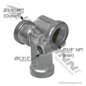 170.140270 Automann Pressure Protection Valve