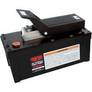 910130A Air/Hyd. Foot Pump - 10000 P.S.I. w/o Gage