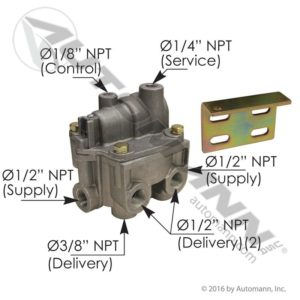 065145 Bendix Type BPR1 Brake Proportioning Relay Valve