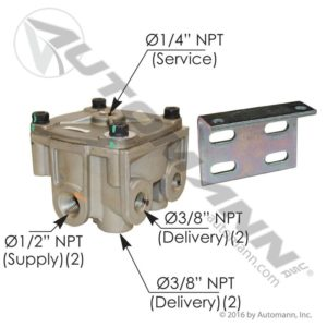 065206 Bendix Type R12V Relay Brake Valve