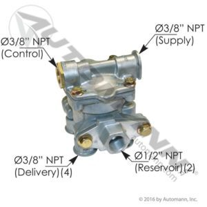 110170 Sealco Type Spring Brake Control Valve