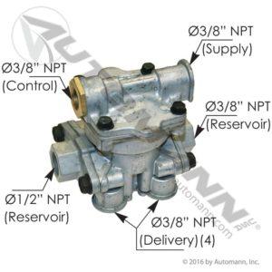 110191 Sealco Type Spring Brake Control Valve