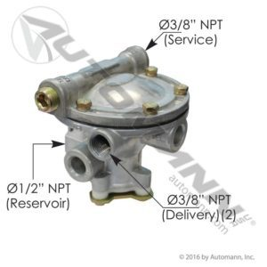 110197 Sealco Type Service Relay Brake Valve