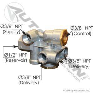 110500 Sealco Type Spring Brake Control Valve