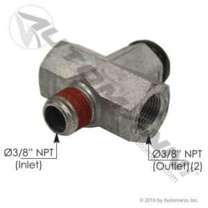 170.1355V Automann Pressure Protection Valve 55psi