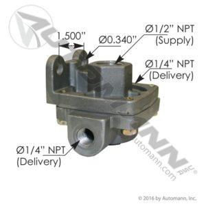 229844 Bendix Type QR1 - Mixed Ports