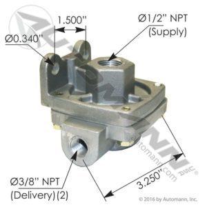 229860 Bendix Type QR1 - Mixed Ports