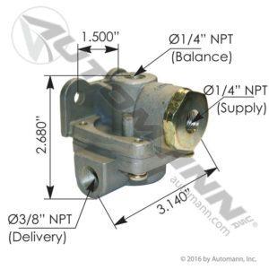 289714 Bendix Type QR1C - Mixed Ports