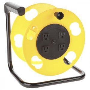 SL-2000PDQ Bayco Quad-Tap Cord Reel w/15a Breaker