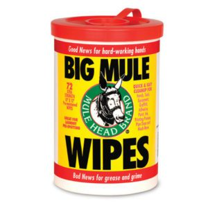 BMW-6 Mule Head Big Mule Wipes 72ct