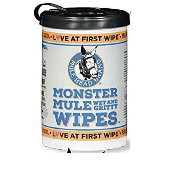 MMW-6 Mule Head Monster Mule Wipes 72ct