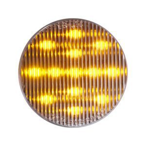 HD25013YC HD Lighting Round Amber-Clear Marker 2-1/2'' 13 LED